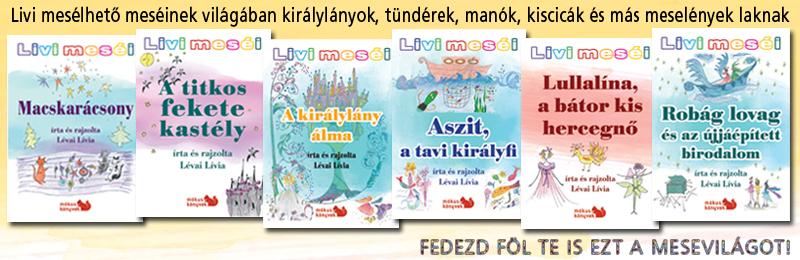 Livi meséi hat kötetben Előnézete